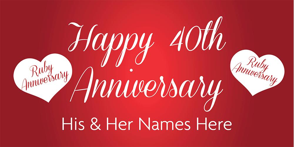 anniversary banners