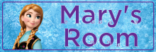 Frozen Anna - Bedroom Door Sign