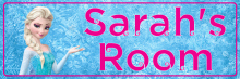 Frozen Elsa - Bedroom Door Sign