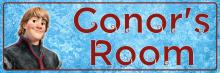 Frozen Kristoff - Bedroom Door Sign