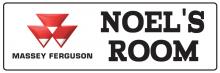 Massey Ferguson - Bedroom Door Sign