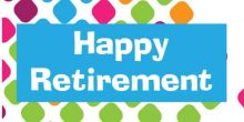 Retirement Banner - Colourful