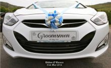 groomsmen wedding number plate