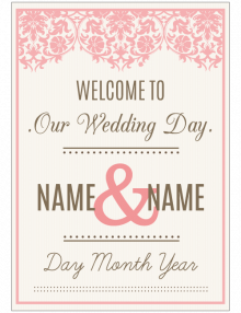 welcome-wedding-sign_pink-lace