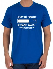 Stag T-Shirts - Getting Drunk