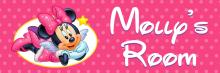 Minnie Mouse - Bedroom Door Sign