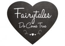 Wedding Sign - Fairytales Do Come True