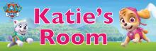 Paw Patrol Skye & Everest - Bedroom Door Sign