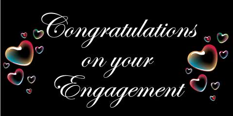 Engagement Banner - Hearts