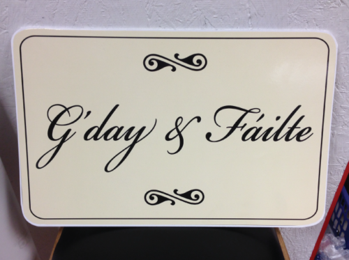 Wedding Sign Ivory Square