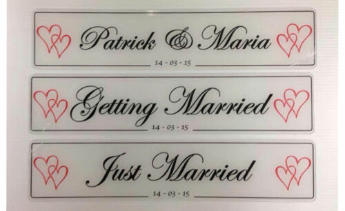 just married signs to buy online