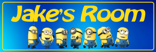 Minions - Bedroom Door Sign
