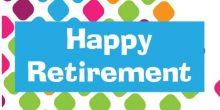 Retirement Banner - Colourful