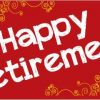 Retirement Banner - Red