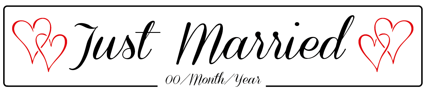 just married hearts wedding number plate clip art retirement celebration clip art retirement celebration