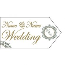 Wedding Road Sign - Elegant