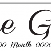 The Girls Bell - Wedding Number Plate