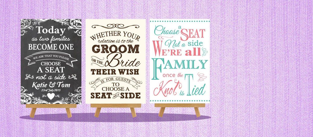 Personalised-Wedding-Signs