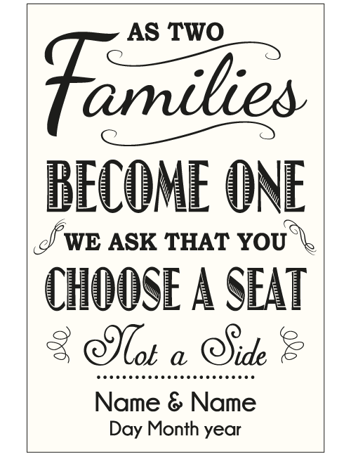 As Two Families Sign - Ivory
