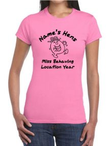 Hen T-Shirts - Miss Behaving