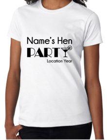 Hen T-Shirts - Cocktail