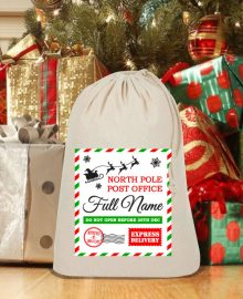 personalised santa sack ireland