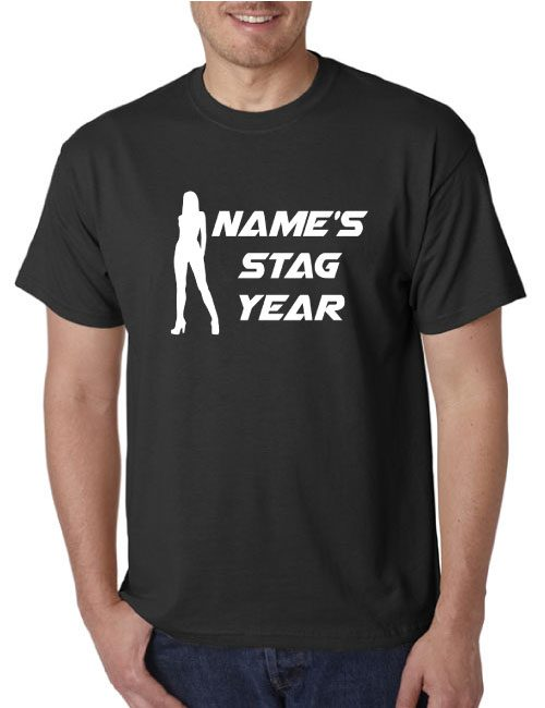 Stag T-Shirts - Stripper