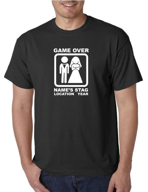 Stag T-Shirts - Game Over