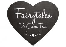 Wedding Sign - Fairytales Do Come True