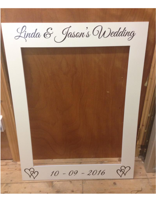 Wedding Frame - Ivory