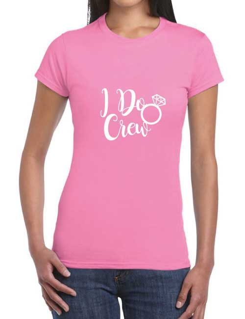 I do crew hen party t-shirt