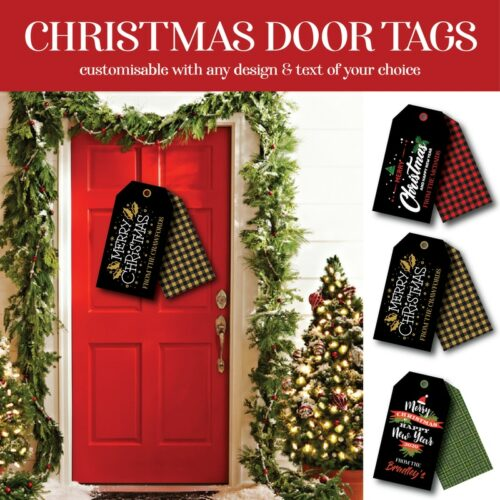 Christmas Door Tags