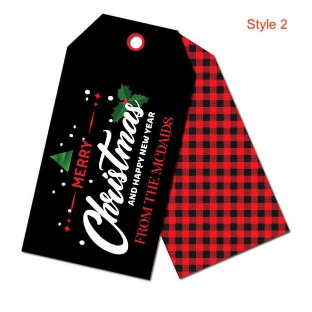 Christmas Door Tags