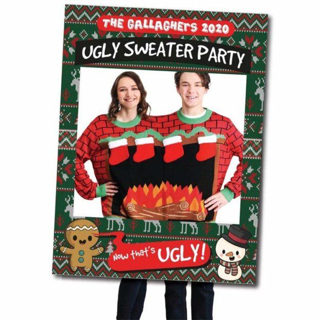 Ugly Sweater Selfie Frame