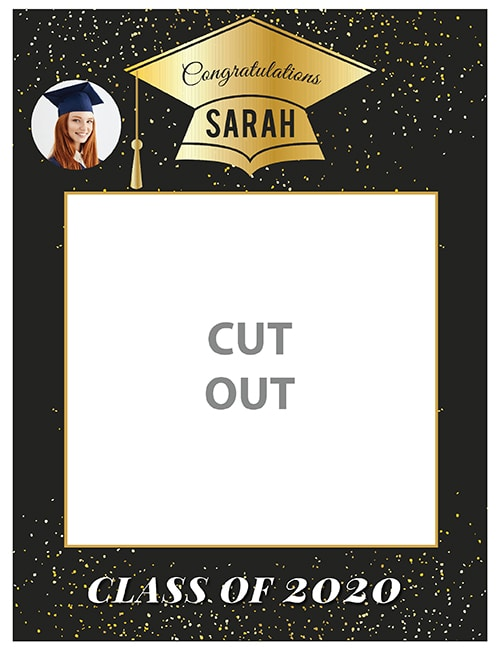 graduation selfie frame
