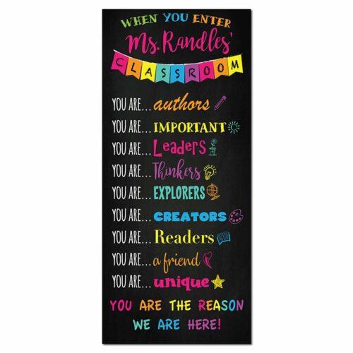 teacher door sign